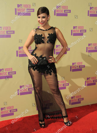 Editorial photo of 2012 MTV Video Music Awards - Arrivals, Los Angeles, USA