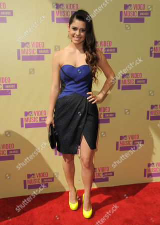 Alex Frnka arrives at the MTV Video Music Awards, in Los Angeles