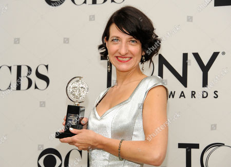 Editorial picture of 2012 Tony Awards Press Room, New York, USA