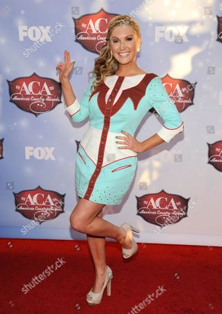 Stock Photo of Ali Dee arrives at the American Country Awards at the Mandalay Bay Resort & Casino, in Las Vegas, Nev