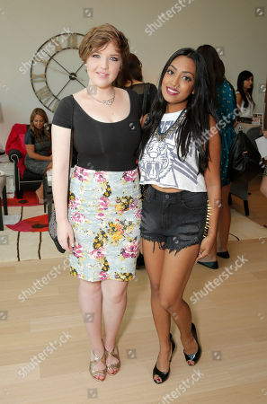 Stock Picture of Aislinn Paul and Melinda Shankar attend the 2013 2013 Bask-It-Style Media Day, on Wednesday, September 4th, 2013 in Toronto, Canada