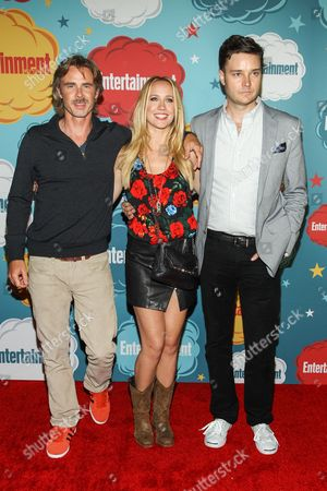 Actors Sam Trammell, Anna Camp and Michael McMillian arrive at the EW party on Day 4 of the 2013 Comic-Con International Convention on in San Diego