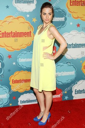 Actress Allison Scagliotti arrives at the EW party on Day 4 of the 2013 Comic-Con International Convention on in San Diego