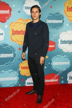 Actor Peter Gadiot arrives at the EW party on Day 4 of the 2013 Comic-Con International Convention on in San Diego