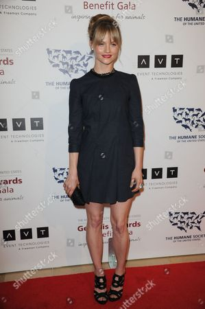 Lindsay Pulsipher arrives at the 2013 Genesis Awards Benefit Gala at The Beverly Hilton on in Los Angeles