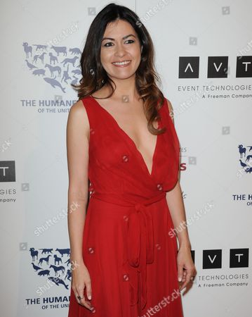 Leilani Munter arrives at the 2013 Genesis Awards Benefit Gala at The Beverly Hilton on in Los Angeles