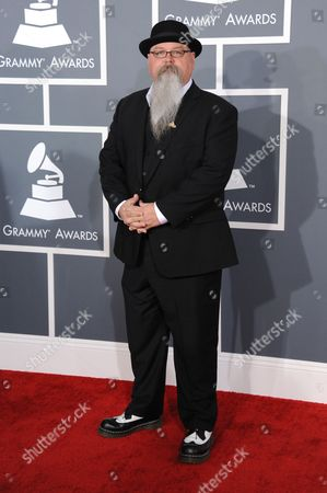 Vance Powell arrives at the 55th annual Grammy Awards, in Los Angeles