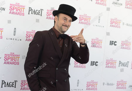 Rapper and actor Carlos Leal arrives at the Independent Spirit Awards, in Santa Monica, Calif