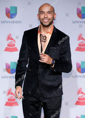 Stock Picture of 2Nyce arrives at the 14th Annual Latin Grammy Awards at the Mandalay Bay Hotel and Casino, in Las Vegas