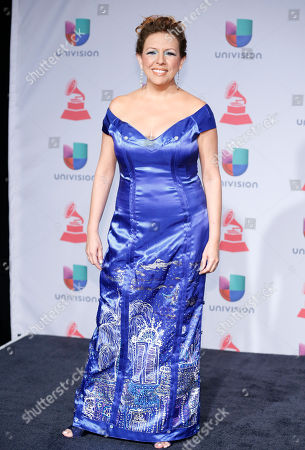 Albita arrives at the 14th Annual Latin Grammy Awards at the Mandalay Bay Hotel and Casino, in Las Vegas