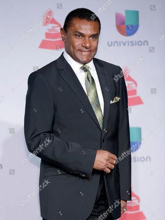 Jose Alberto, El Canario, arrives at the 14th Annual Latin Grammy Awards at the Mandalay Bay Hotel and Casino, in Las Vegas