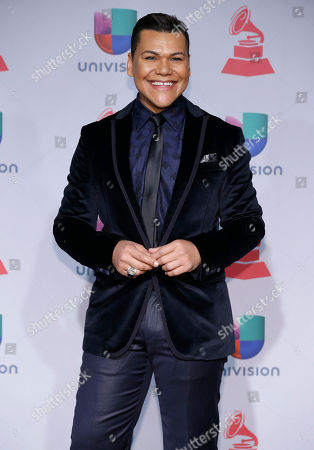 Victor Florencio arrives at the 14th Annual Latin Grammy Awards at the Mandalay Bay Hotel and Casino, in Las Vegas