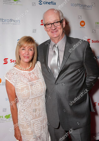 Colin Mochrie and wife attend the 2013 Producers Ball, at the Royal Ontario Museum, on Wednesday, September 4th, 2013 in Toronto, Canada