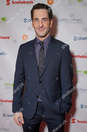 Stock Image of Aaron Abrams attends the 2013 Producers Ball, at the Royal Ontario Museum, on Wednesday, September 4th, 2013 in Toronto, Canada