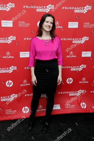 """Director, writer and producer Liz Garcia poses at the premiere of """"The Lifeguard"""" during the 2013 Sundance Film Festival on in Park City, Utah"""