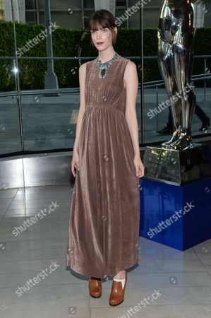 Stock Picture of Meghan Collison at the 2014 CFDA Fashion Awards, on in New York