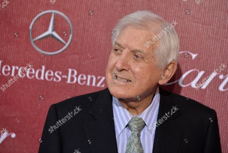 Monty Hall arrives at the Palm Springs International Film Festival Awards Gala at the Palm Springs Convention Center, in Palm Springs, Calif