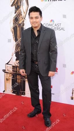 Douglas Spain arrives at the NCLR ALMA Awards at the Pasadena Civic Auditorium, in Pasadena, Calif