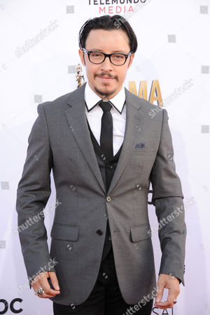 Efren Ramirez arrives at the NCLR ALMA Awards at the Pasadena Civic Auditorium, in Pasadena, Calif