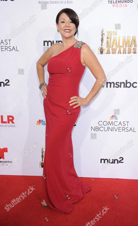 Stock Image of Patricia Rae arrives at the NCLR ALMA Awards at the Pasadena Civic Auditorium, in Pasadena, Calif