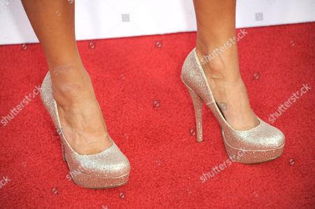 Mariann Gavelo arrives at the NCLR ALMA Awards at the Pasadena Civic Auditorium, in Pasadena, Calif