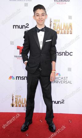 Fabrizio Zacharee Guido arrives at the NCLR ALMA Awards at the Pasadena Civic Auditorium, in Pasadena, Calif