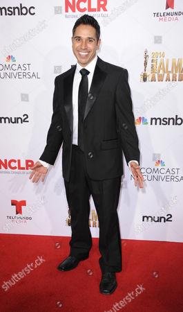 Stock Photo of Erik Rivera arrives at the NCLR ALMA Awards at the Pasadena Civic Auditorium, in Pasadena, Calif