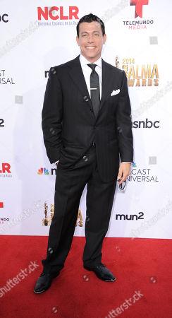Al Coronel arrives at the NCLR ALMA Awards at the Pasadena Civic Auditorium, in Pasadena, Calif