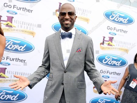 Radio host and comedian Rickey Smiley walked the Ford blue carpet at the 2014 Neighborhood Awards held at the Philips Arena, in Atlanta, Ga
