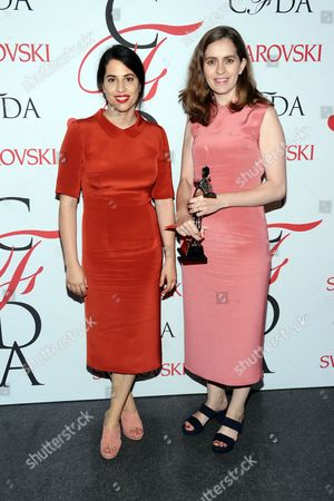 Editorial photo of 2015 CFDA Fashion Awards - Cocktail Reception and Winner's Walk, New York, USA