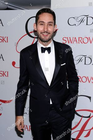 Kevin Systrom attends the 2015 CFDA Fashion Awards at Alice Tully Hall, in New York