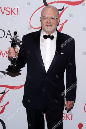 Mickey Drexler attends the 2015 CFDA Fashion Awards at Alice Tully Hall, in New York