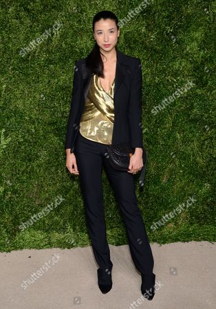 Lily Kwong attends the 12th Annual CFDA/Vogue Fashion Fund Awards at Spring Studios, in New York