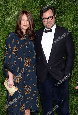 Jeanne Reid and Billy Reid attend the 12th Annual CFDA/Vogue Fashion Fund Awards at Spring Studios, in New York