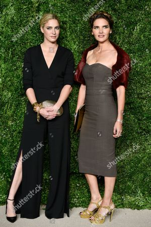 Stock Picture of Veronica Miele Beard, left, and Veronica Swanson Beard attend the 12th Annual CFDA/Vogue Fashion Fund Awards at Spring Studios, in New York