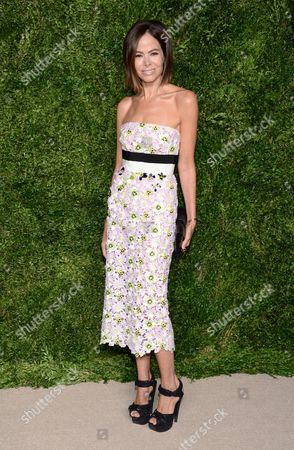 Allison Sarofim attends the 12th Annual CFDA/Vogue Fashion Fund Awards at Spring Studios, in New York