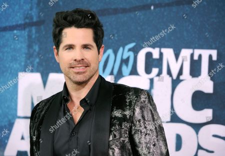 Stock Picture of JT Hodges arrives at the CMT Music Awards at Bridgestone Arena, in Nashville, Tenn