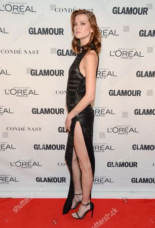 Kasia Struss attends the 25th Annual Glamour Women of the Year Awards at Carnegie Hall, in New York
