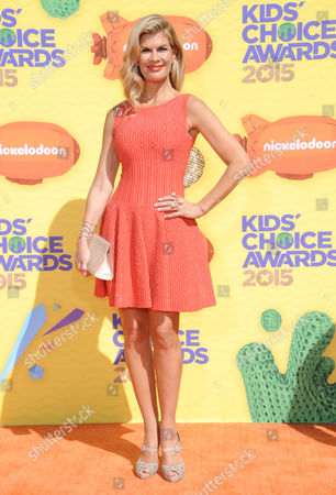 Mia Matthews arrives at Nickelodeon's 28th annual Kids' Choice Awards at The Forum, in Inglewood, Calif