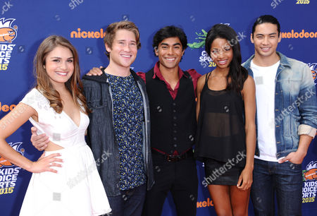 Editorial photo of 2015 Kids' Choice Sports Awards - Arrivals, Los Angeles, USA