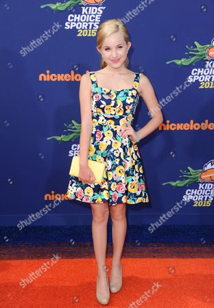 Brady Reiter arrives at the 2015 Kids' Choice Sports Awards at Pauley Pavilion on in Los Angeles