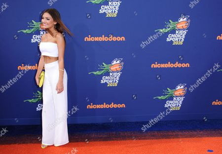 Daniela Nieves arrives at the 2015 Kids' Choice Sports Awards at Pauley Pavilion on in Los Angeles