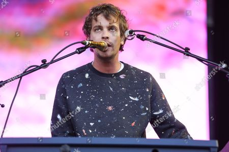 Jay Watson of Tame Impala performs at Outside Lands Music Festival at Golden Gate Park, in San Francisco, Calif