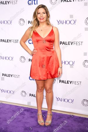 Fernanda Kelly arrives at the at 2015 PaleyFest Fall TV Previews at The Paley Center for Media, in Beverly Hills, Calif
