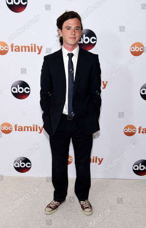 Charlie McDermott poses at the Disney ABC Television Group party during the 2015 Television Critics Association Summer Press Tour at the Beverly Hilton, in Beverly Hills, Calif