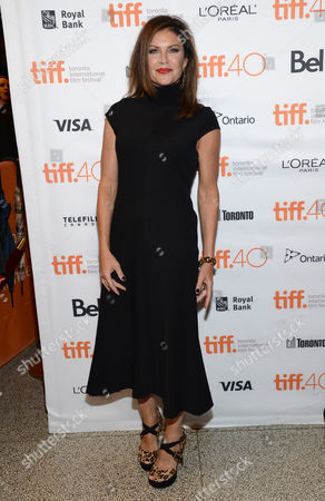 "Wendy Crewson attends a premiere for ""Into the Forest"" on day 3 of the Toronto International Film Festival at the Elgin Theatre, in Toronto"