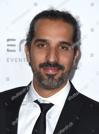 Javier Ruiz Caldera arrives at the 30th annual American Cinematheque Award Honoring Ridley Scott at the Beverly Hilton Hotel, in Beverly Hills, Calif