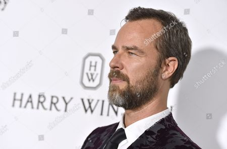 Stock Photo of J. R. Bourne arrives at the amfAR Inspiration Gala Los Angeles at Milk Studios on