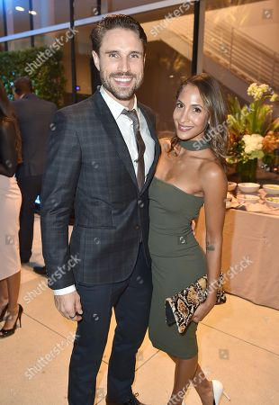 James O'Halloran, left, and Christel Khalil attend the 2016 Daytime Peer Group Celebration presented by the Television Academy at their Saban Media Center, in North Hollywood, Calif