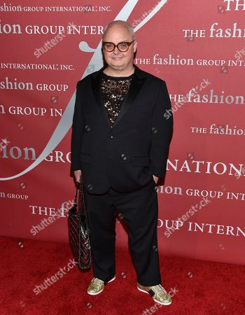Mickey Boardman attends The Fashion Group International's Night of Stars Gala at Cipriani Wall Street, in New York